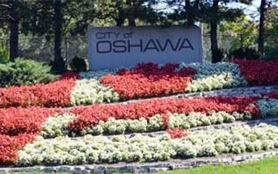 City of Oshawa Garden Sign